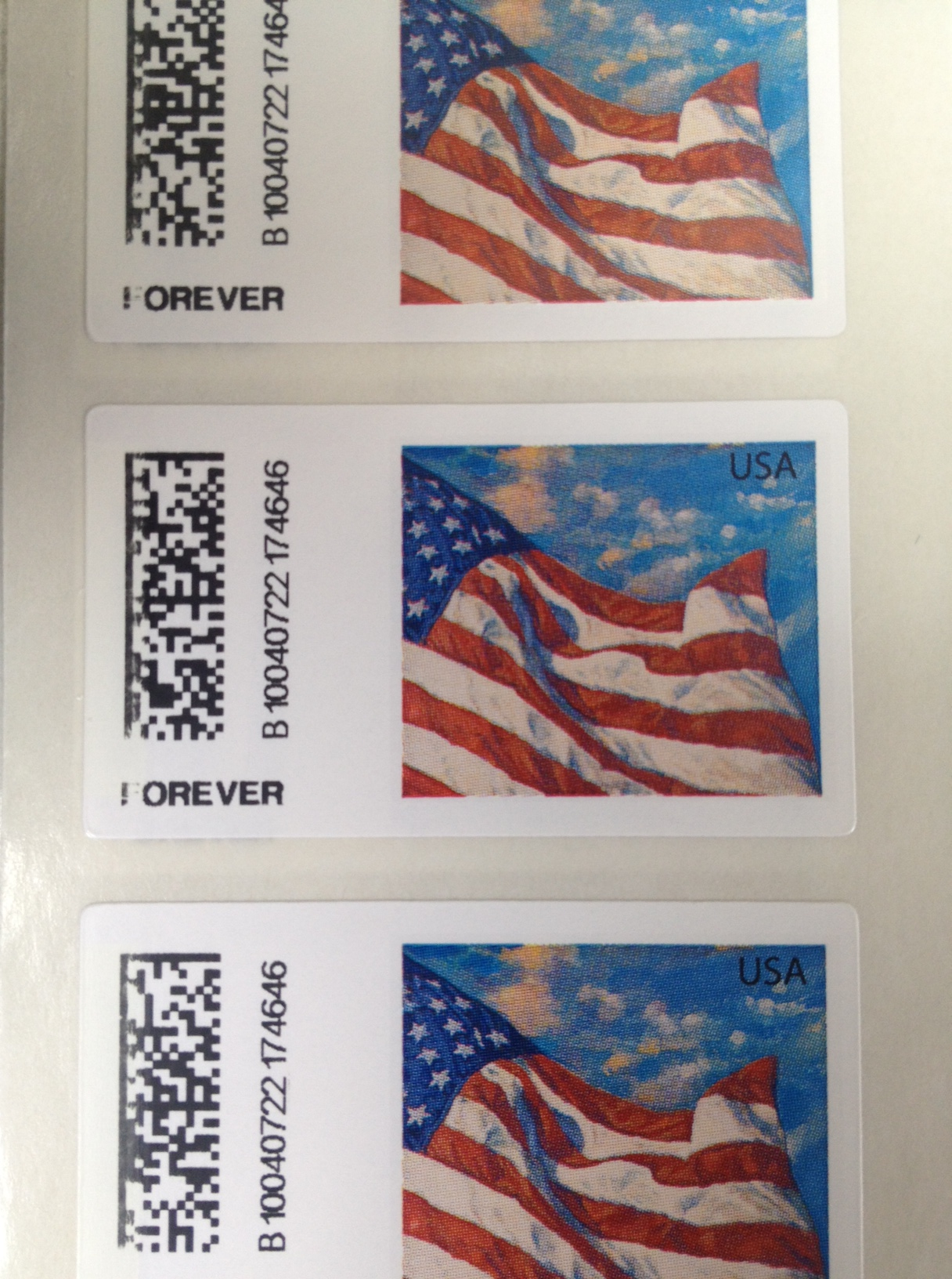 Cached All forever stamp images