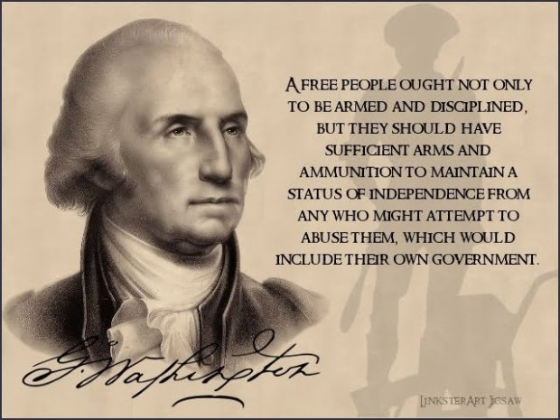 george washington 2nd amendment