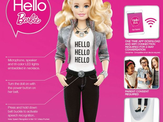 hello barbie privacy