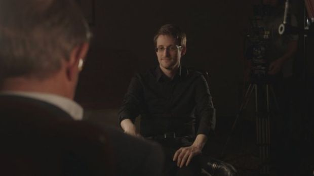 snowden interview