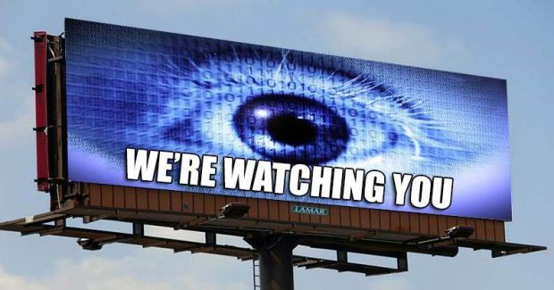 billboard spying