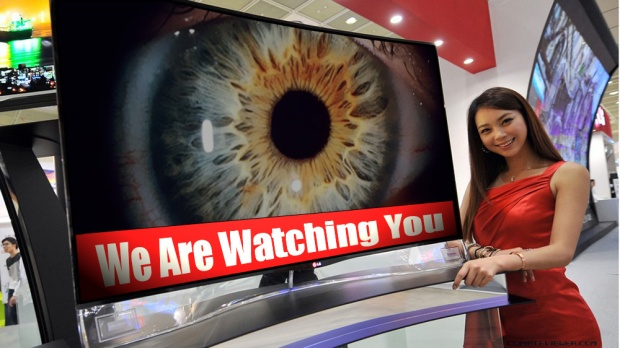 tv is watching you spying