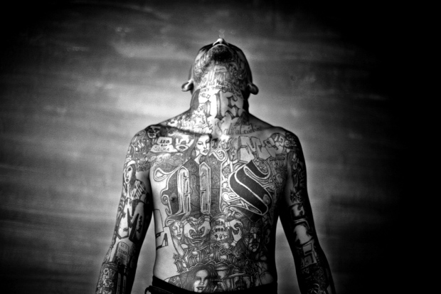 tattoo gangster central america